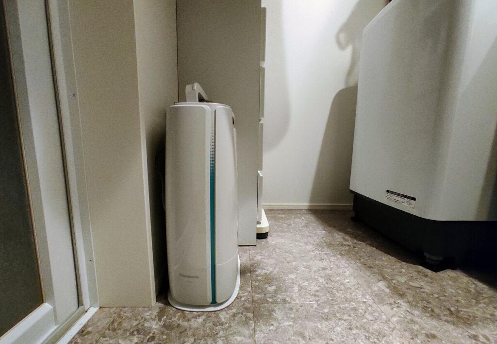 除湿衣類乾燥機 スペース