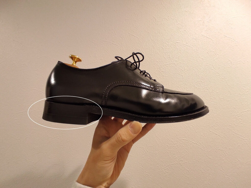 ヒール ありの靴